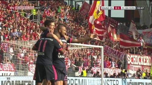 Robert Lewandowski – Mainz v Bayern 7