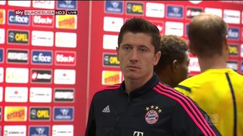 Robert Lewandowski - Mainz v Bayern 1