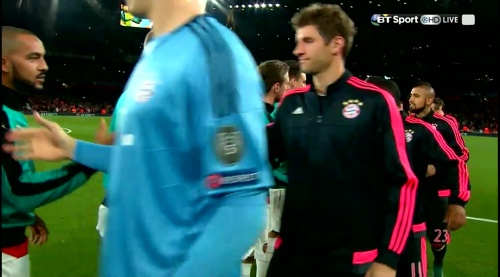 Thomas Müller - Arsenal v Bayern 2