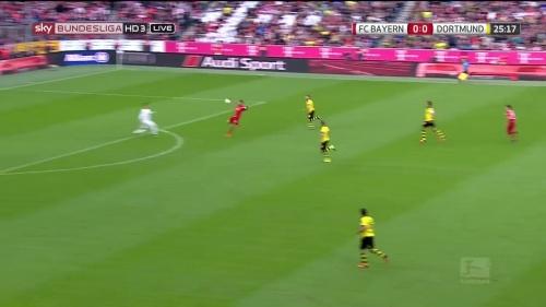 Thomas Müller – 1st goal – Bayern v Dortmund 1