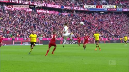 Thomas Müller – 1st goal – Bayern v Dortmund 13