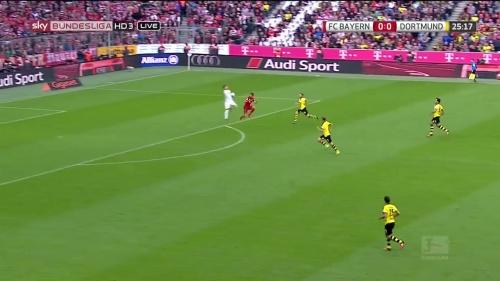 Thomas Müller – 1st goal – Bayern v Dortmund 2