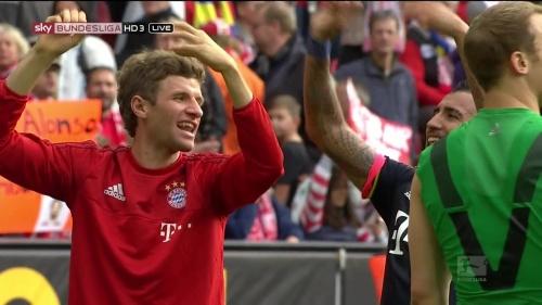 Thomas Müller – Mainz v Bayern 1