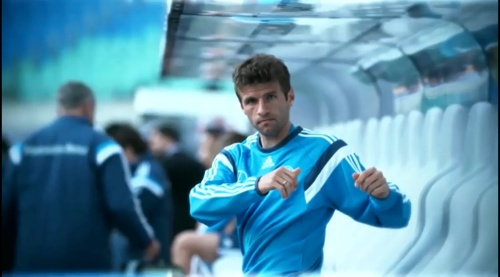 Thomas Müller – training in Leipzig 1