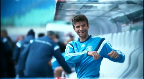 Thomas Müller – training in Leipzig 3