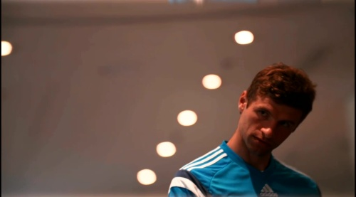 Thomas Müller - training in Frankfurt 1