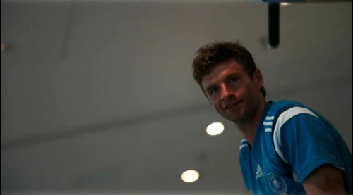Thomas Müller - training in Frankfurt 2