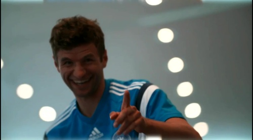 Thomas Müller - training in Frankfurt 3