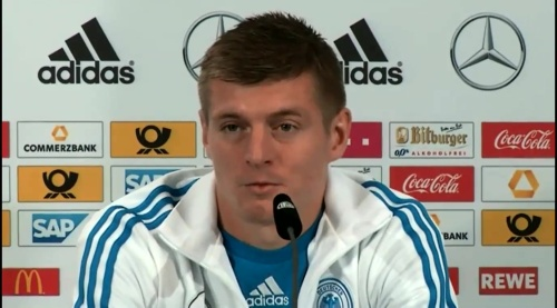 Toni Kroos - post-match press conference 1