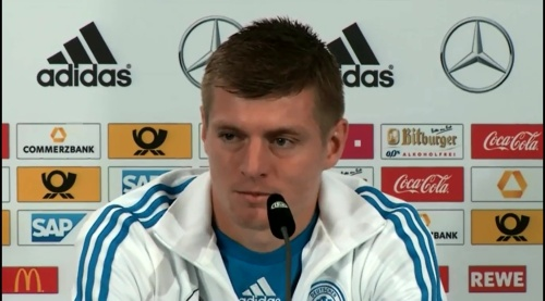 Toni Kroos - post-match press conference 2