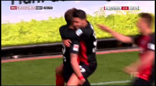 Vincenzo Grifo, Maximillian Phillipp & Nils Petersen – SC Freiburg v Greuther Fürth 1