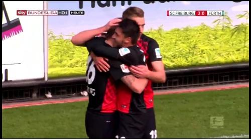 Vincenzo Grifo, Maximillian Phillipp & Nils Petersen – SC Freiburg v Greuther Fürth 2