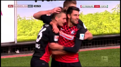 Vincenzo Grifo, Maximillian Phillipp & Nils Petersen – SC Freiburg v Greuther Fürth 23