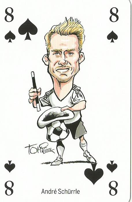 Andre Schürrle- playing card
