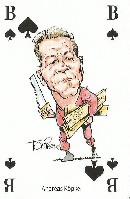 Andreas Köpke - playing card