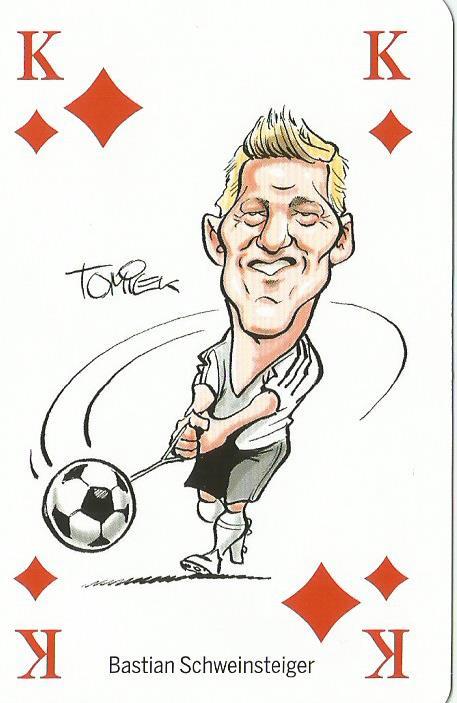 Bastian Schweinsteiger - playing card