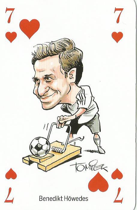 Benedikt Höwedes – playing card
