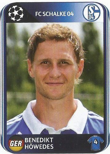 Benedikt Höwedes – Schalke 04 – CL 2010-11