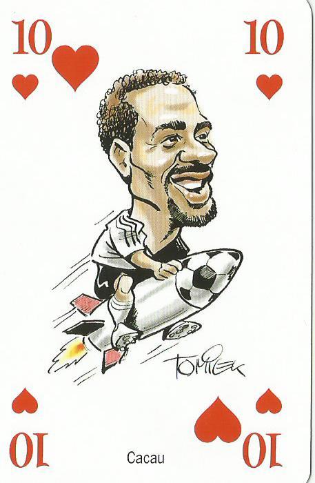 Cacau - playing card