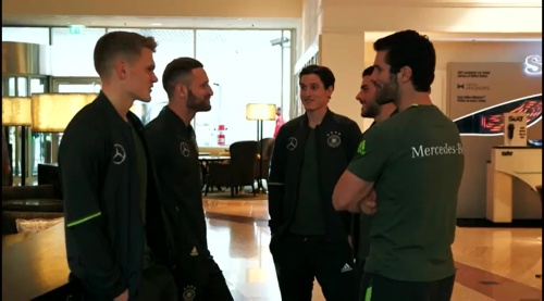 Ginter, Mustafi, Rudy & Volland – Ankunft in München 1