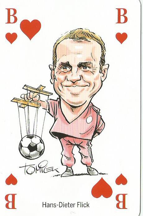 Hansi Flick – playing card