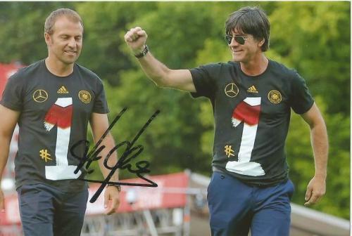 Hansi Flick signed photo 1