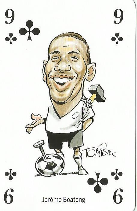 Jerome Boateng - playing card