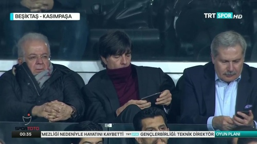 Joachim Löw at Besiktas v Kasimpasa 2015-16 2