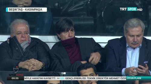 Joachim Löw at Besiktas v Kasimpasa 2015-16 3