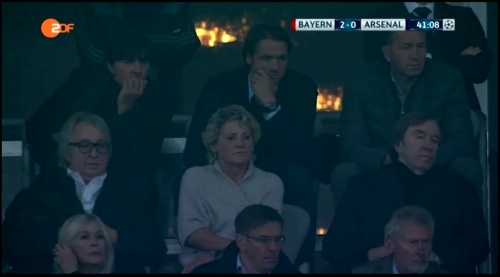 Joachim Löw at FC Bayern München v Arsenal 2015-16 1