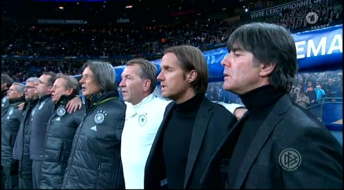 Joachim Löw – France v Germany – 1st half 1