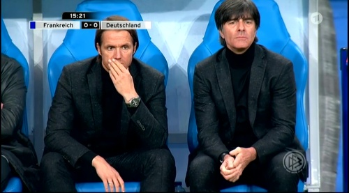 Joachim Löw – France v Germany – 1st half 11