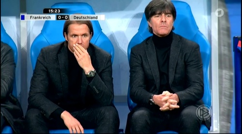 Joachim Löw – France v Germany – 1st half 12