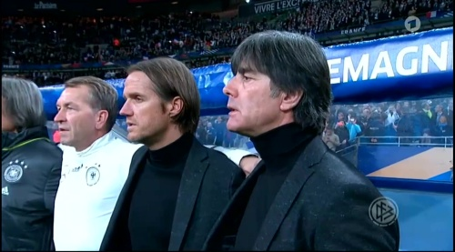 Joachim Löw – France v Germany – 1st half 2