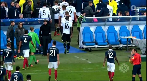 Joachim Löw – France v Germany – 1st half 24