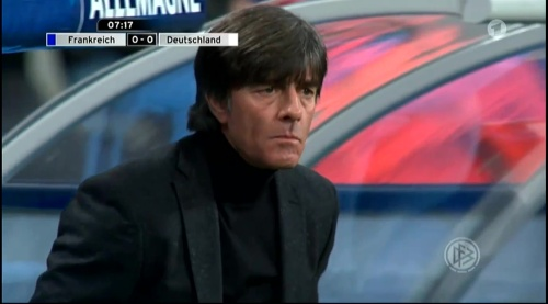 Joachim Löw – France v Germany – 1st half 4