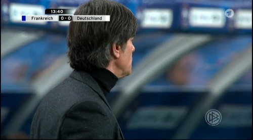 Joachim Löw – France v Germany – 1st half 7