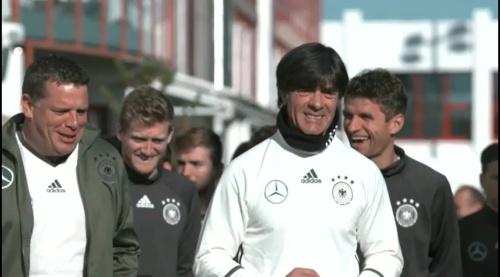 Joachim Löw – Training in München 1