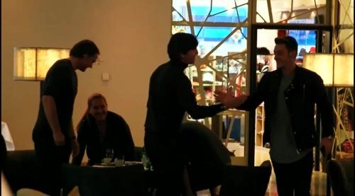 Joachim Löw & Mesut Özil – Ankunft in München 1