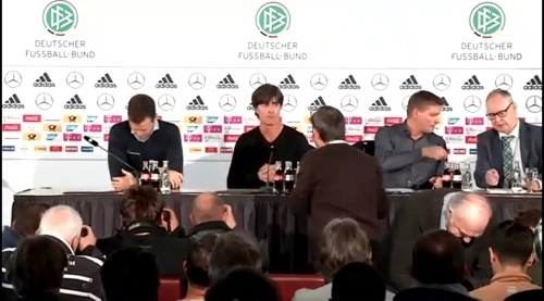 Joachim Löw & Oliver Bierhoff – press conference – DEU-NED 2
