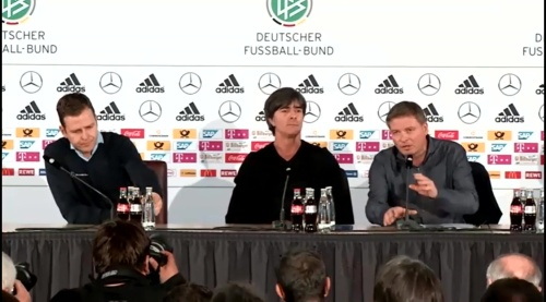 Joachim Löw & Oliver Bierhoff – press conference – DEU-NED 3