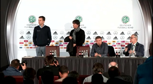 Joachim Löw & Oliver Bierhoff – press conference – DEU-NED 4