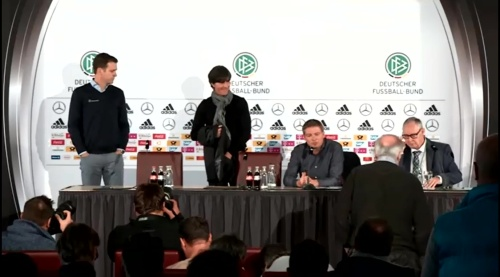 Joachim Löw & Oliver Bierhoff – press conference – DEU-NED 5