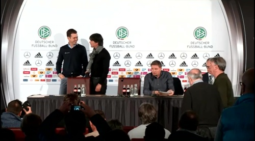Joachim Löw & Oliver Bierhoff – press conference – DEU-NED 7