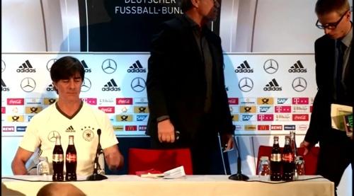 Joachim Löw - PK FRA-DEU 1