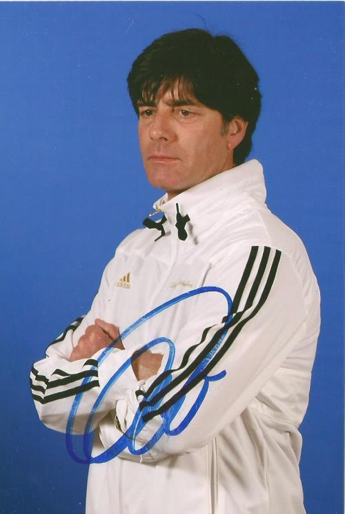 Joachim Löw signed photo 1