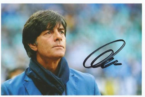 Joachim Löw signed photo 2