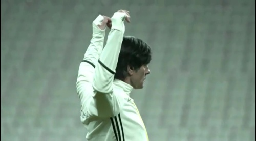 Joachim Löw - training 1