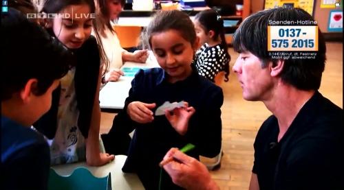 Joachim Löw - Wir helfen Kindern 2015 16