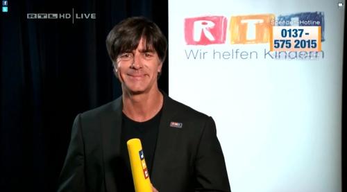 Joachim Löw - Wir helfen Kindern 2015 2